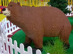 LEGO bear | by KLIKK Hungarian LEGO Fan Community