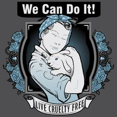 "Cruelty Free International | FLOAT Apparel ""We Can Do It!"" #MyVeganJournal"