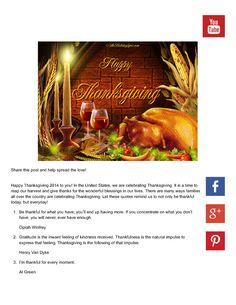 5 Thankful Thanksgiving Quotes |authorSTREAM