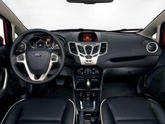 Ford Fiesta Sedan Interior