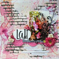 Scrapbooking LO by Alz