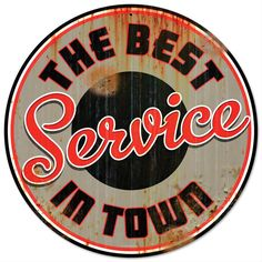 Best Service Sign - Free Shipping on Orders Over $99 at Genuine Hotrod Hardware