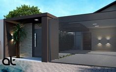 Our Top 10 Modern house designs – Modern Home House Gate Design, Gate House, House Entrance, Fence Design, Facade House, Modern House Design, Entrance Gates, House Front, Exterior Design