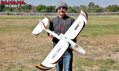 I ordered this last week! BananaHobby - 4 CH 2.4GHz FMS Easy Trainer 1280 Radio Remote Control Electric RC Airplane Glider ( RTF )