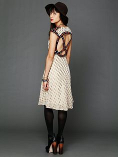 Free People Caravan Princess Dress, $350.00...yeah ill never be able to afford this but the back is so gorgeous