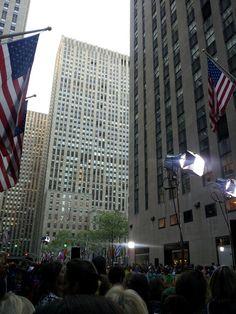 The Today Show, NY (4/12)