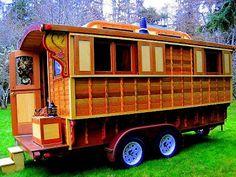 Modern Gypsy Wagon Plans   Beautiful Gypsy Vardo...