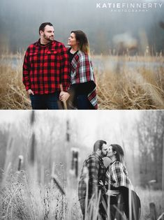 Rochester Winter Engagement Session Photography at Mendon Ponds Park | https://www.katiefinnertyphotography.com/blog/2017.2.6.mendon-ponds-park-rochester-engagement-session-stephanie-brett