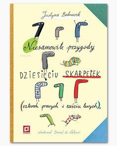 Zaginione skarpetki ruszają w świat... Znakomita książka dla dzieci i dorosłych.