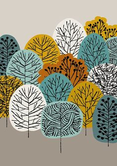 Cime des arbres, limited edition giclée