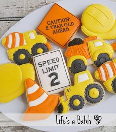 Trendy birthday party food ideas for kids boys construction theme - Construction birthday - Birthday 2nd Birthday Party For Boys, Second Birthday Ideas, Cake Birthday, Birthday Banners, Third Birthday, Boys Birthday Party Themes, Tractor Birthday, Kids Party Themes, Birthday Balloons