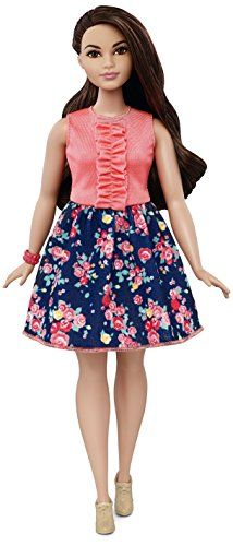With a ton of new looks the Barbie Fashionistas dolls offer real-world diversity and fashion options for endless styling fun! Each doll wears a fabulous outfit that reflects current trends with a mat...