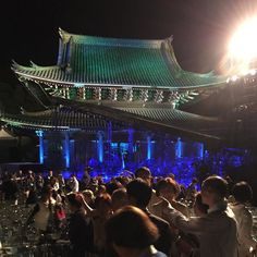 Sennyuji Temple #Kyoto after the #Otobutai #Concert tonight which will be shown on TBS/MBS #TV October 11 from 0:30 am. by ebisuskyoto_guesthouse