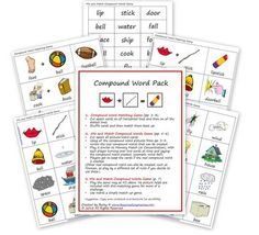 Free Compound Word Printable Pack