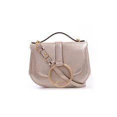 Carbotti 310 - Platinum Calfskin Leather Handbag - http://carbotti.it/en/product/carbotti-310-platinum-calfskin-leather-handbag/