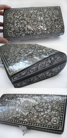 Vintage Mother of Pearl Clutch Purse