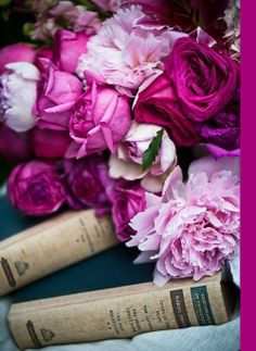 At Pretty Page Turner, we love flowers and we love books. We REALLY love flowers and books together.