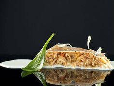 Centollo, Tocino Y Kinilaw Caliente Reserva online para comer otros. EligeTuPlato.es