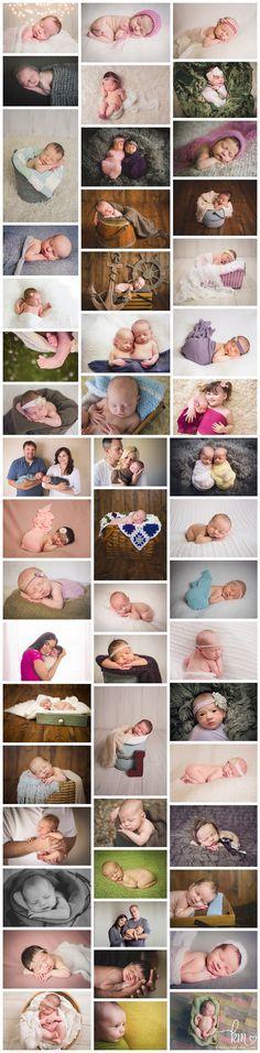 Newborn photography poses - Indianapolis newborn photographer KristeenMarie Photography