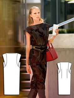 Overlay Dress 09/2013 #109B http://www.burdastyle.com/pattern_store/patterns/overlay-dress-092013?utm_source=burdastyle&utm_medium=blog&utm_campaign=bsawblog091613-scoopsleevetxt
