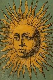 bohemian sun and moon illustration - Google Search