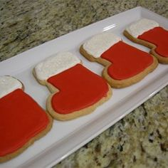 Royal Icing II Recipe - Meringue powder and confectioners' sugar are the base of this icing. Rolled Sugar Cookie Recipe, Royal Icing Cookies Recipe, Sugar Cookie Icing, Soft Sugar Cookies, Cookie Frosting, Holiday Baking, Christmas Baking, Christmas Cookies, Christmas Treats