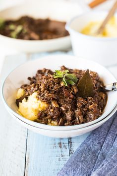 Pork Cheek Ragu - A cheaper cut of meat packed with flavor and becomes meltingly tender morsels of delicious. Pork Recipes, Slow Cooker Recipes, Pork Cheeks, Ragu Recipe, Meat Packing, Food Hacks, Entrees, Food To Make, Main Dishes