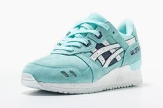ASICS F/W 14 Preview: ASICS WMNS Gel Lyte III Blue Tint/White