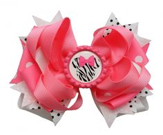 bottlecaps with bows | Layered Bow White, Light Pink & Hot Pink (BOTTLE CAP) M-2 ...