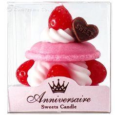 Sweet Candle: Strawberry Cream Sand Tart