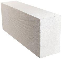 Matériaux de construction // Béton Cellulaire épaisseur 15cm - SIPOREX  Dim. : 62,5 x 25 cm, soit 6,4 carreaux par m².