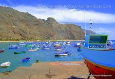 Tenerife fishing bay Santa Cruz de Tenerife