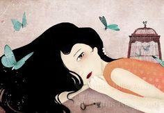 Papillons Bleus - abierto edición impresa