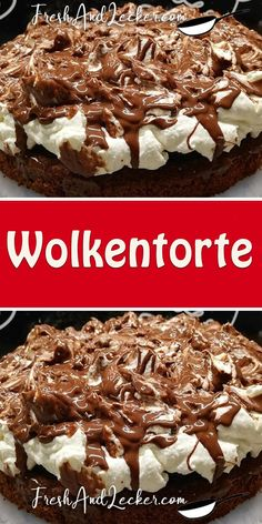 Funny Cake, Marble Cake, Cakes And More, Sweet Recipes, Muffin, Food And Drink, Coconut, Sweets, Fresh