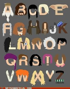 Harry Potter alphabet :)