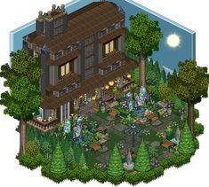 Mansion - Garden by Cutiezor on DeviantArt