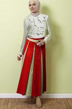 model rok panjang