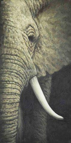 acrylic elephant paintings