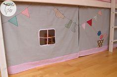 Ikea Etagenbett Vorhang : Hochbett vorhang a vorhänge für kinder room kids und
