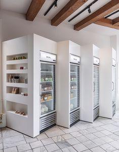 Gallery of Cold Pressed Juicery-Shop Prinsengracht / Standard Studio - 15 - Einkaufen Design Shop, Cafe Design, Store Design, Design Design, Commercial Design, Commercial Interiors, Restaurant Design, Restaurant Bar, Design Comercial