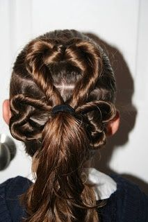 13 Best Kids Up Hair Images On Pinterest Hairstyle Ideas Cute