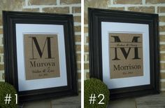 FREE SHIPPING - Personalized Burlap Prints - 6 Styles! 33% off at Groopdealz