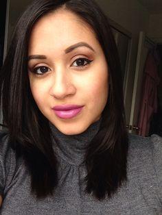 I wear too much purple lipstick lol