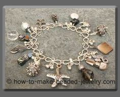 Beaded bracelet projects: step-by-step illustrated instructions of how to make your own bracelets
