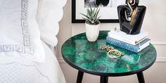 DIY-een-malachiet-make-over-voor-je-oude-bijzettafel