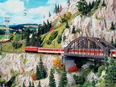 Ski-Region - model building - model railway Hamburg