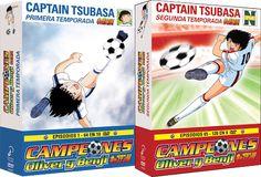 Captain Tsubasa: Serie Completa (1983) DVD9 PAL - IntercambiosVirtuales