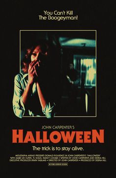 Horror Movie Stuff and More. Halloween Film, Poster Halloween, Halloween Horror, Horror Movie Posters, Movie Poster Art, Horror Films, Film Posters, All Horror Movies, John Carpenter Halloween