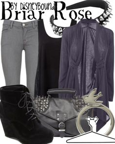 "Disney Princess Sleeping Beauty ""Briar Rose""-inspired outfit. | Disney Bound."