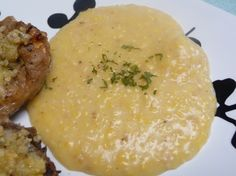 Easy recipe for Creamy Polenta. This dish feels fancy but is so easy and inexpensive